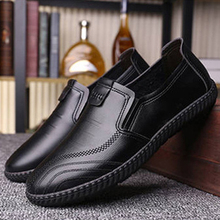 Brand Men Casual Shoes Breathable Lazy Peas Shoes for Man Fashion Loafers Moccasins Slip On Soft Men's Flats Driving Men Shoes стоимость
