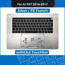 Серебристый чехол a1707 для macbook pro retina 15 дюймов сменный