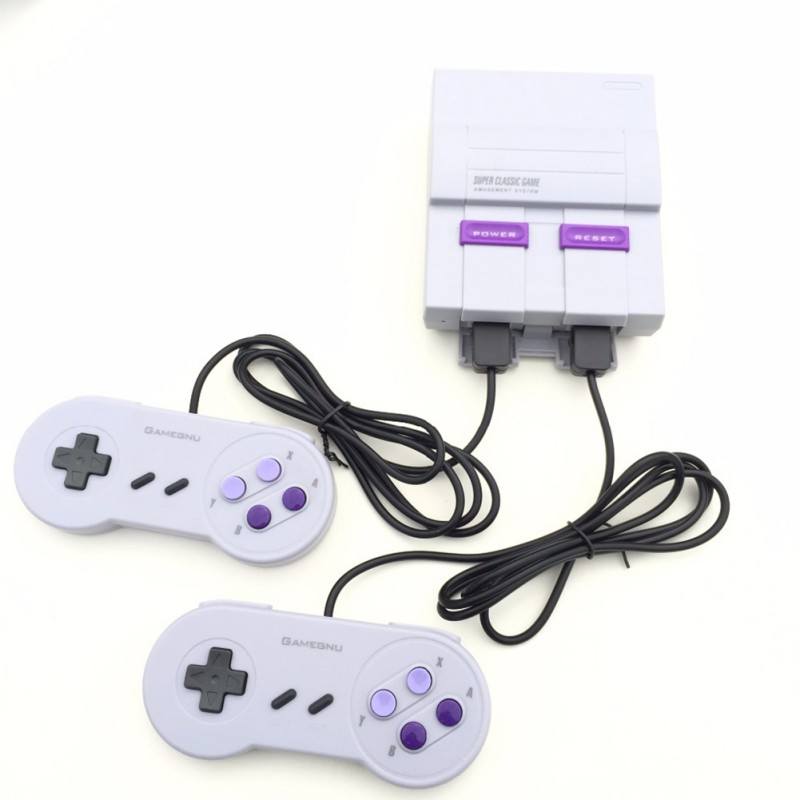 Classic Mini Edition Console Entertainment System Compatible With Super Nintendo Games Retro Handheld Mini Video Game Console