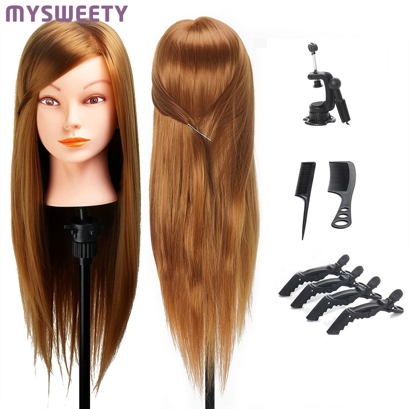 Hair Styling Mannequin Head Dummy Mannequin Hairdresser Mannequin Head Professional Styling Wig Head