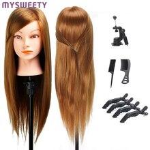 Манекен для укладки волос манекен голова манекена для парикмахера профессиональный стиль парик голова