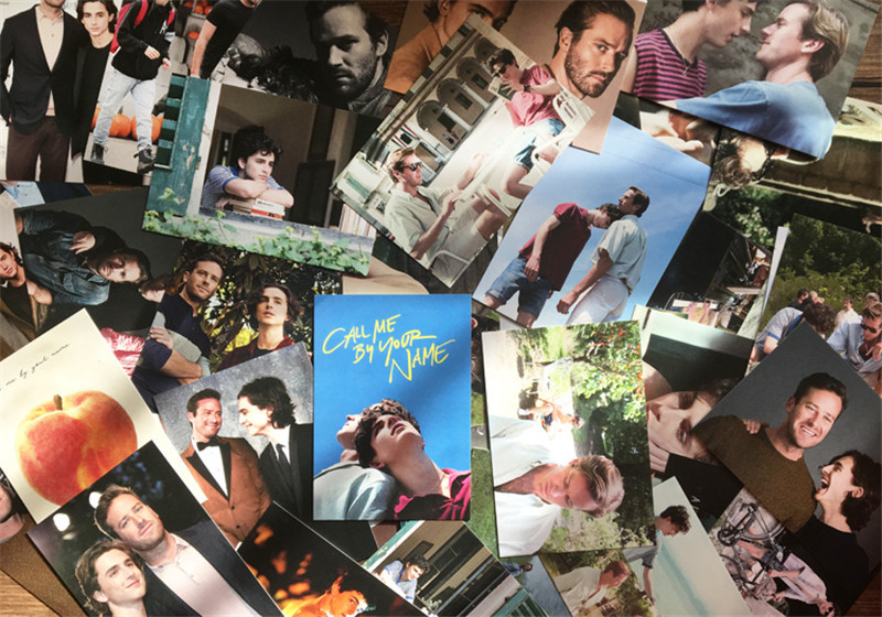André Aciman Call Me by Your Name Movie Andre CMBYN Postcard Post Photo Card Be
