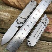 S35VN Blade EDC Tools Multipurpose Pocket Knife Titanium Folding Knife Ball Bearing Small Cute Opener Knives
