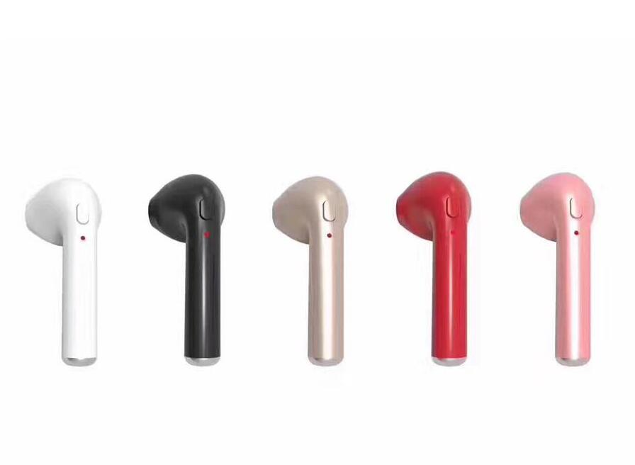 Mini Wireless Bluetooth 4.1 Earphones Earbuds i7 Earphone Headset With Microphone for iPhone Airpod Android Phone hena earphones i7 mini i7 bluetooth wireless headphones headset with mic stereo bluetooth earphone for iphone 8 7 plus 6s