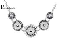 2014 Hot Sale High Quality Pendant Of Necklace Fit 18mm Chunks Snap Jewelry KB0179