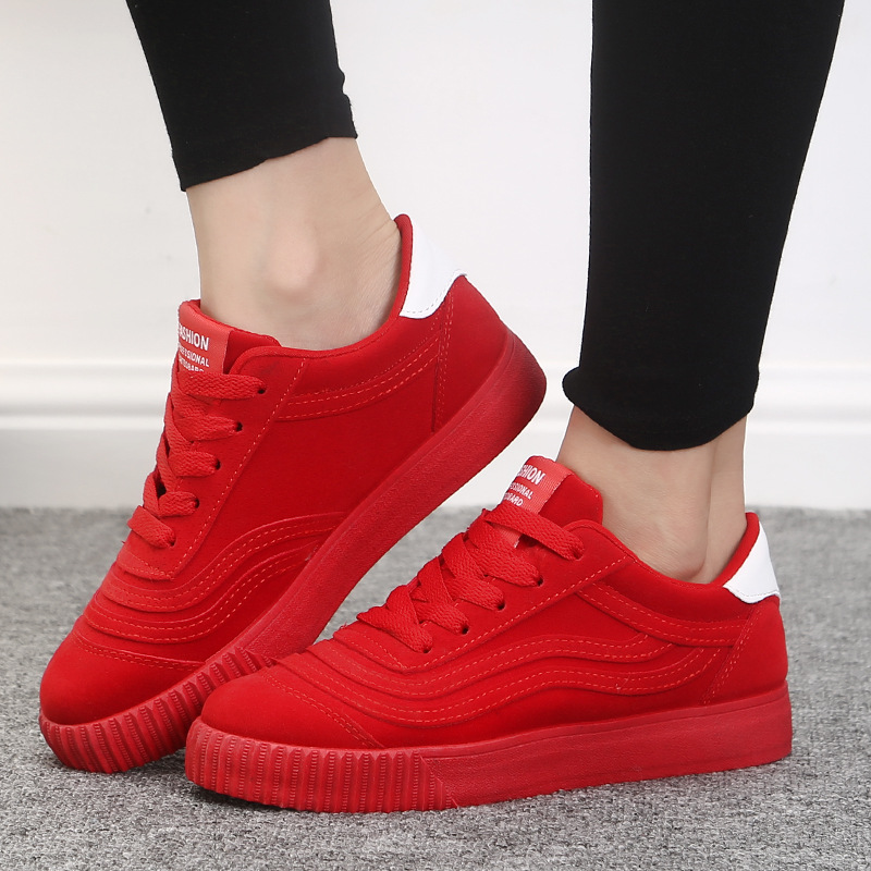 High Quality Womens Casual Shoes Autumn Brand Flats for Gril Lace-up Pink Flats for Ladies Female Solid Trainer Shoes