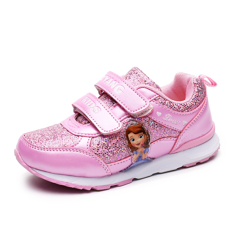 Spring Running Shoes Sneakers Sport Outdoor Sneakers For Kids Girls Breathable Sneakers Children Shoes Princess Baby Girls Shoes 2016 new shoes for children breathable children boy shoes casual running kids sneakers mesh boys sport shoes kids sneakers