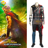 Thor Ragnarok Thor Odinson Cosplay Costume Thor 3 Ragnarok Cosplay Costume Odinson Costume Dress For Adult Men Party Custom Made