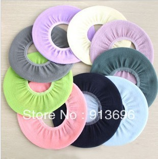 10PCS/LOT,Toilet seats flocking toilet cover&seats mat assorted color,Washing Room Necesseries, Free Shipping Retail & Wholesale
