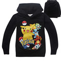 Pokemon Go Cotton T-shirt Boys Long  Sleeve T Shirts and Pokemon Go Mens Tshirts Spring&Autumn Funny Style