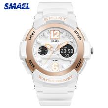 SMAEL Top Brand Luxury Women Watches 2019 New Fashion Woman Dress Watch Quartz Sport Ladies Clock Wristwatch Relogio Feminino