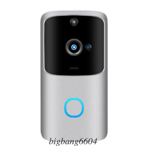 Умная беспроводная камера Wi-Fi для дверного звонка видео беспроводной дистанционный дверной звонок CCTV Chime Phone APP без батареи