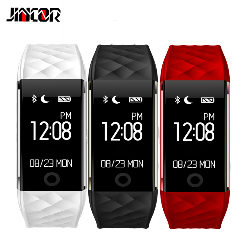 JINCOR S2 Smart Bracelet Wristband Heart Rate Monitor IP67 Waterproof Smartband Bracelet For Android4 3 IOS8