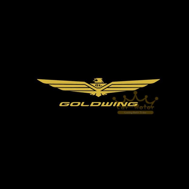 GOLDWING логотип мотоцикл призрак тени прожектор лазерный проектор светодиодный логотип для Honda