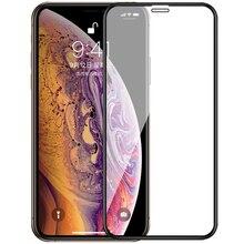 フルカバー強化ガラスx xs xr 11Proスクリーンプロテクターiphone 6 6s 7 8プラスx 5 5s、se 2020保護ガラス