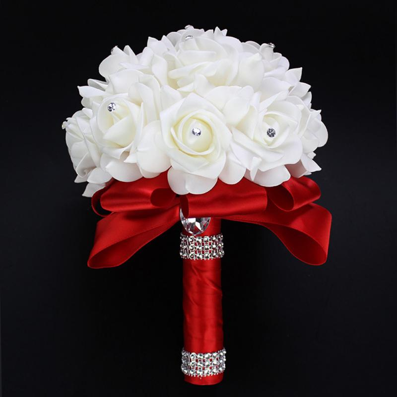 Popular Wedding Bouquet CreamBuy Cheap Wedding Bouquet Cream lots