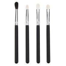 4pcs Professional Eyes Makeup Brushes set Goat Hair Eye Bronzer Eyeshadow Blending Brush Cosmetic Beauty Tools