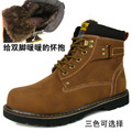 freeshipping fur men seconds kill botas femininas new spring and winter male cotton-padded shoes snow boots boots!hot sale