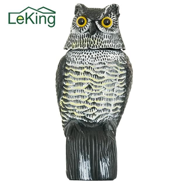 Plastic Owl Garden Tools Mouse Expeller Farming Simulator Animal Ornaments  Decoration 16 * 15 * 36cm