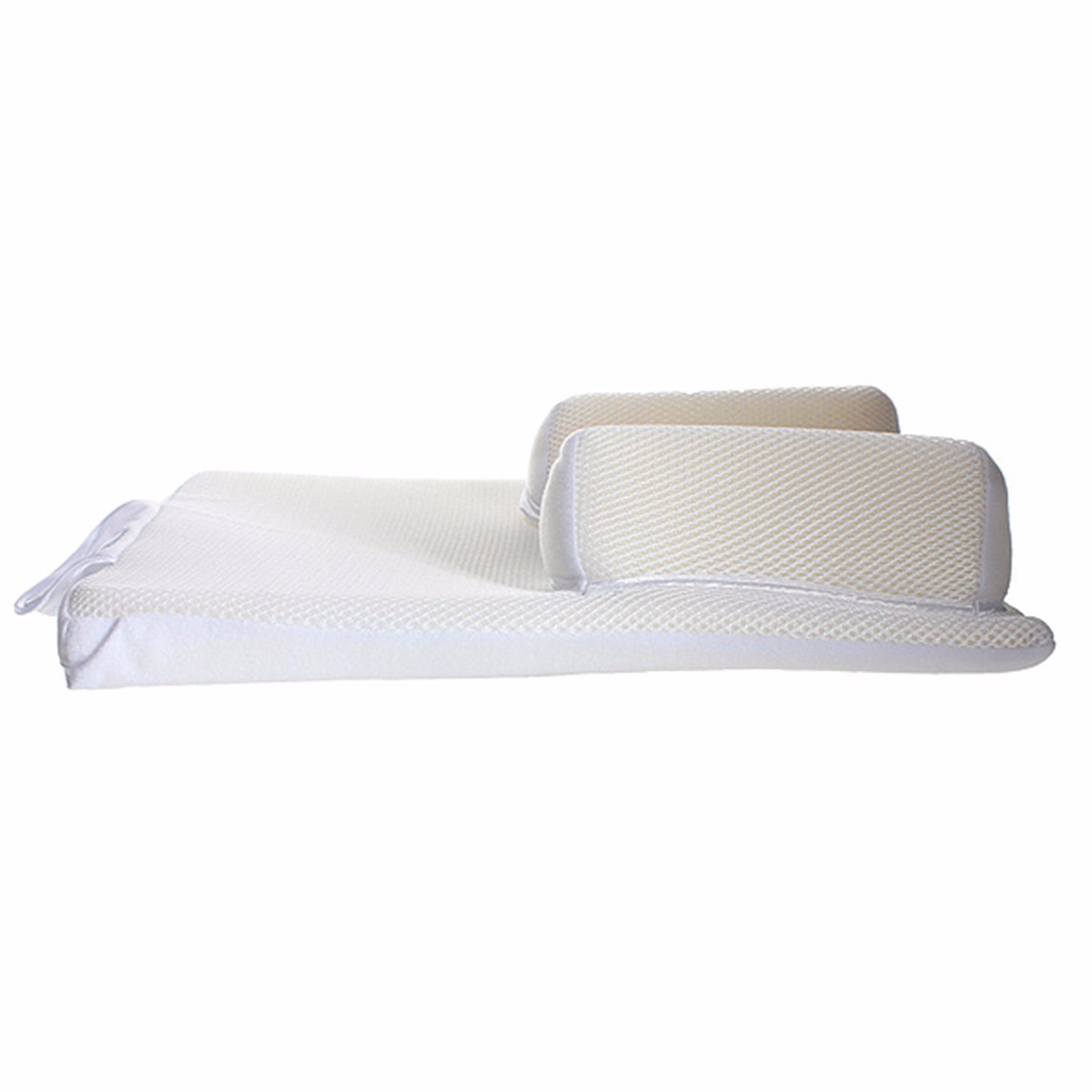 Baby Care Infant Anti Roll Pillow With Ultimate Fixed Vent And Sleep Positioner To Prevent Flat Head 4