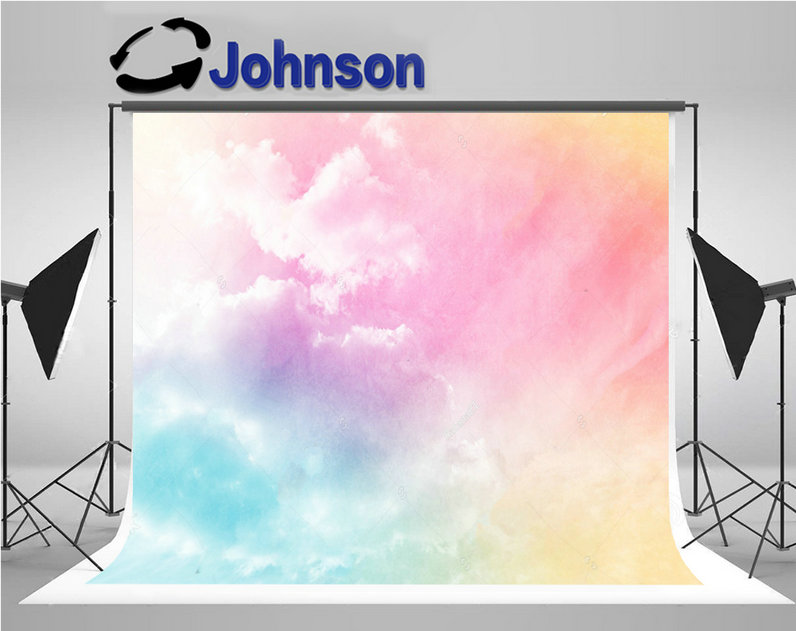 lights Sky Clouds Gradient Filter Grunge Texture Nature photography backgrounds Vinyl cloth Computer print party backdrop