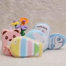 Baby Bath Towel, Bath Towel Fabric Ball Cartoon Baby Bath Bath Rub Baby