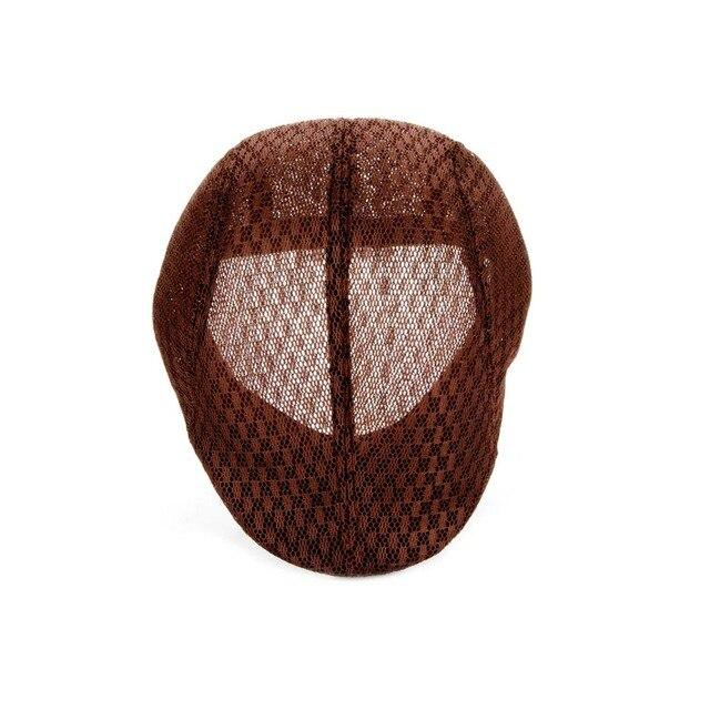 New Sale Men Women Linen Beret Hats Fashion Peaked Cap Casual Style Popular  Solid Flat Hat Six Color 83768cd87f1