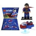 1 Pcs Blocos de Construção de Brinquedos Ninja Super-heróis Coringa Batman de Volta para o Futuro Figuras Tijolos Brinquedos Do Miúdo Presentes de Natal