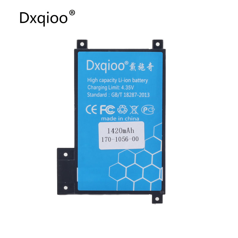 Dxqioo bateria de polímero de lítio de Alta qualidade para amazon kindle toque S2011-002-A SALTO-A014 S2011-002-S D01200 bateria