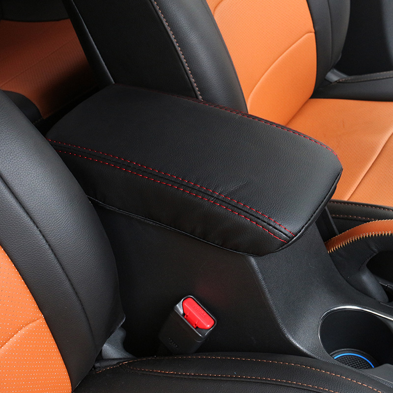 Image 5 - Vtear For hyundai creta ix25 Accessories central armrest box cover  leather protection pad Interior Parts car styling 2018 2019-in Armrests from Automobiles & Motorcycles