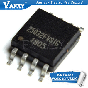 Image 2 - 100PCS W25Q32FVSSIG SOP8 25Q32 SOP 25Q32FVSIG SOP 8 W25Q32FVSIG SMD W25Q32 new and original IC