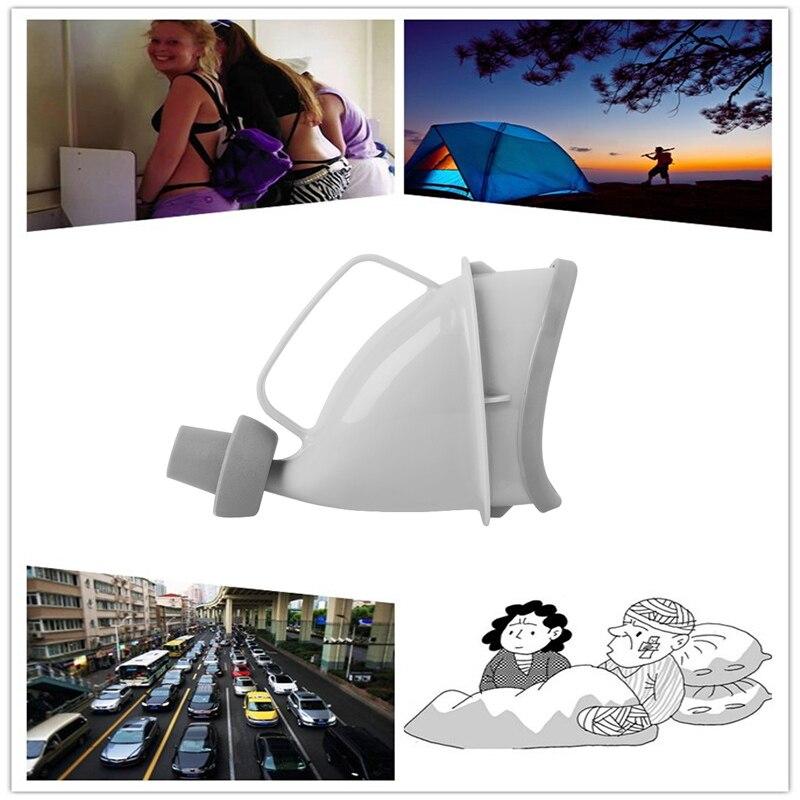 Activit/és de Plein Air Appareil de Miction de Voyage Durinoir F/éminin Debout Entonnoir de Pipi Portable pour les Femmes sac de Transport Discret Camping Randonn/ée