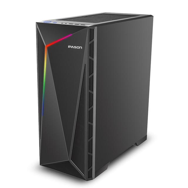 IPASON i5 10th Gen GTX1650/1050TI 240GB SSD 8GB DDR4 Performance Gaming PC
