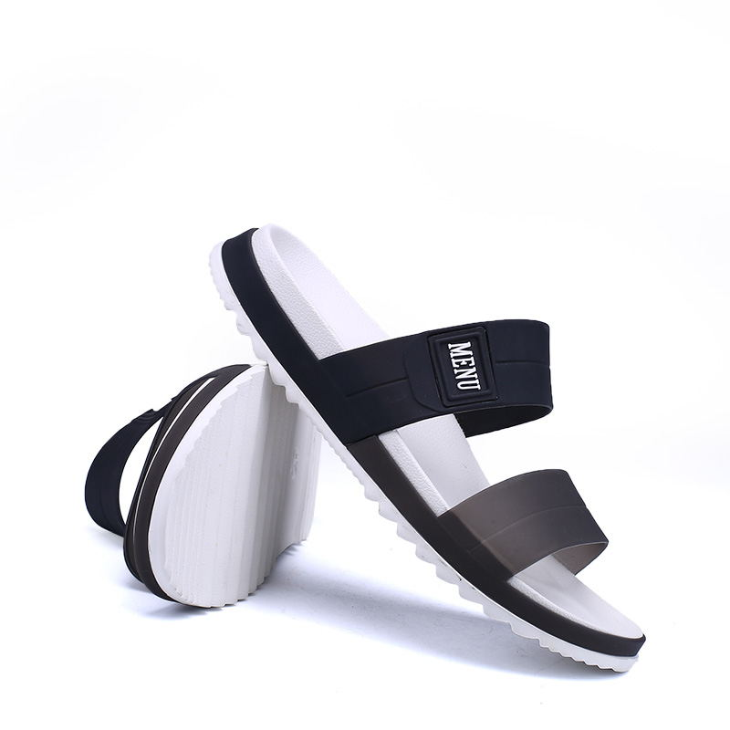 LAISUMK Summer Beach Men Slippers Casual Shoes Double Buckle Man Slip on Flip Flops Flats Camouflage Flip Flop Indoor & Outdoor 76