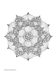 Image 5 - Mandalas Adult Coloring Books  Fantasy Creative Coloring Book For Adult Relieve Stress Painting Drawing Books