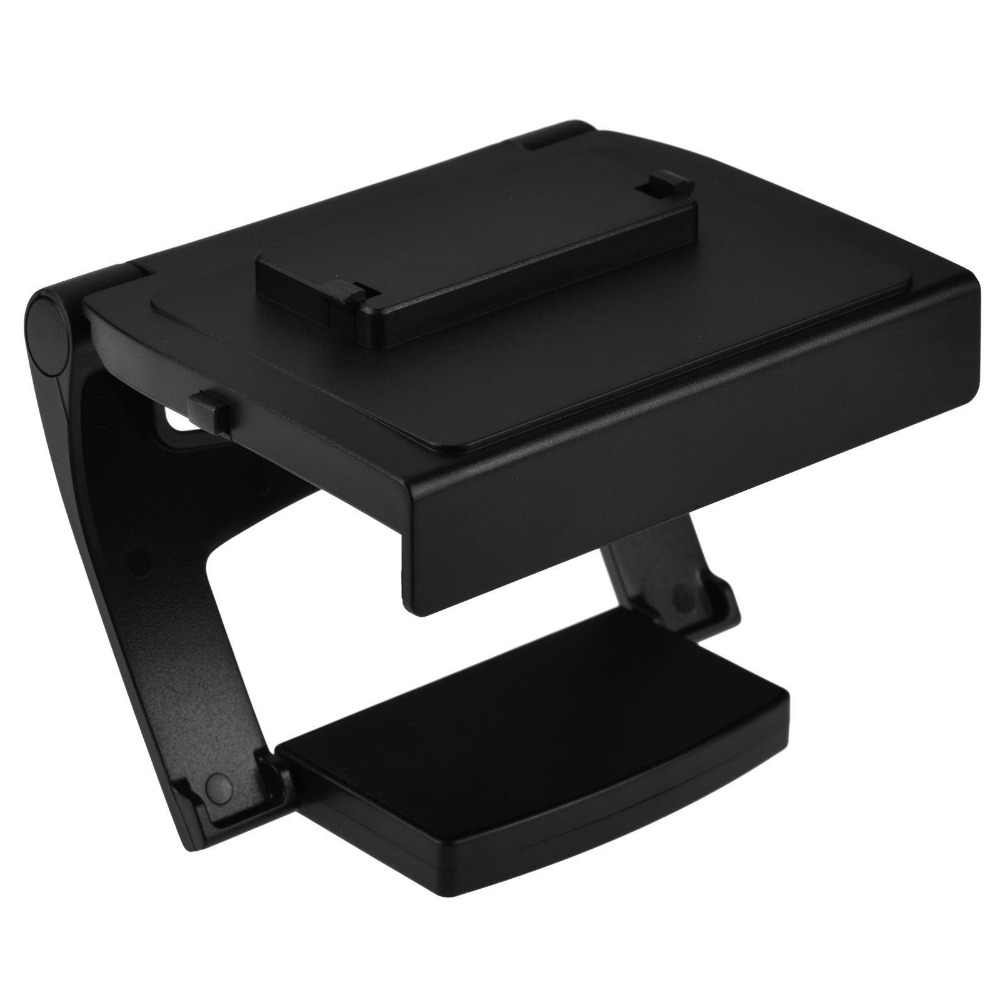 Foleto TV كليب المشبك جبل حامل الإطار مهد حامل ل جهاز مايكروسوفت إكس بوكس وان مستشعر حركي قابل للتعديل دعم ل xboxone Kinect