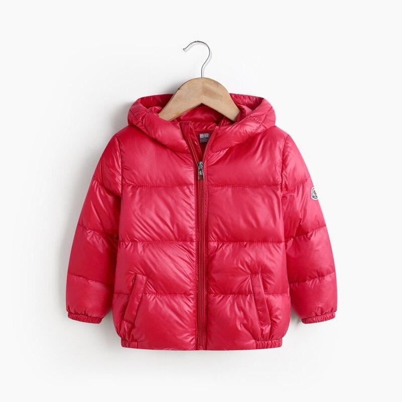 Children Jacket Coat Baby Boys Girls Winter Coats Full Sleeve Jacket Warm Coat Winter Outerwear Thick Hooded