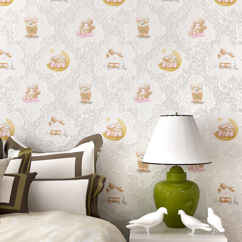 Hot animal patt... Kids Room Wallpaper Pattern