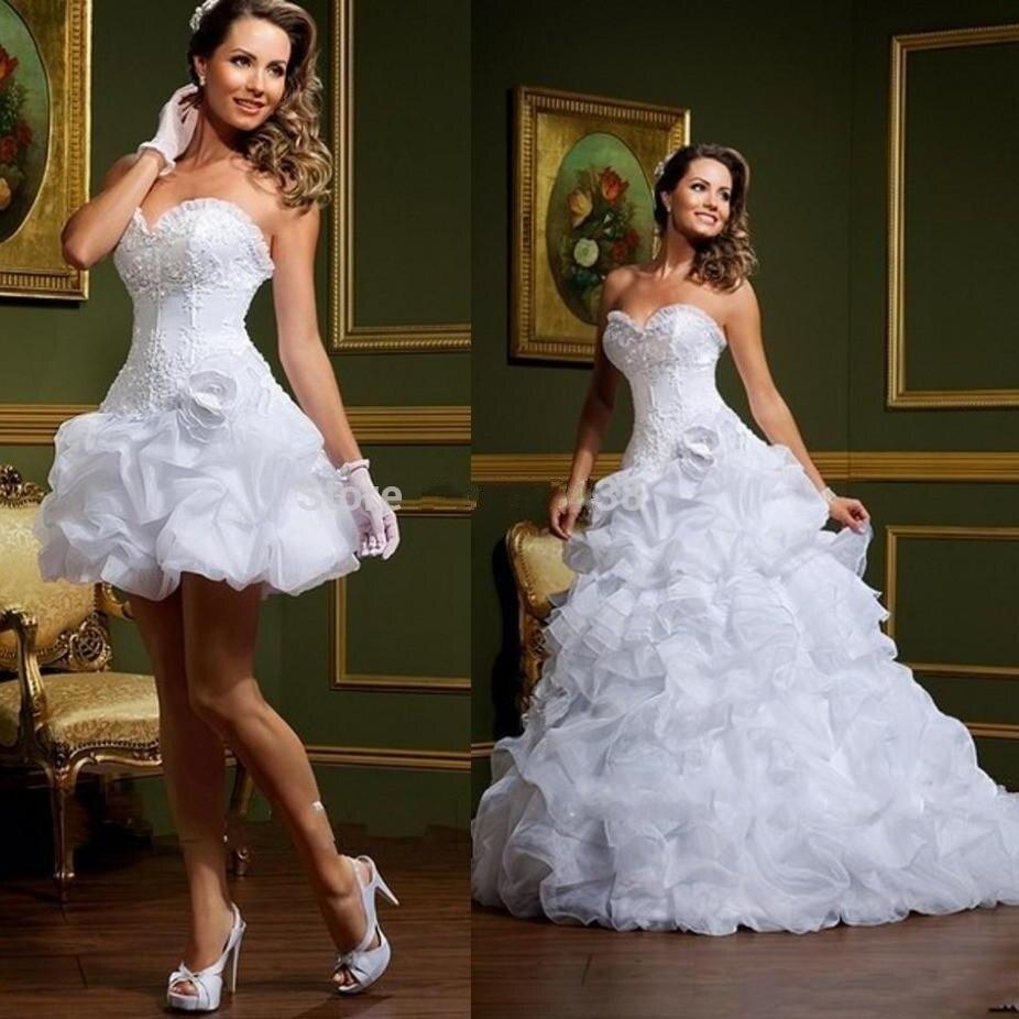 Bridal Gown Detachable Skirt Removable Skirt Sweetheart Ball Vestido De Novia Robe De Mariage 2018 Mother Of The Bride Dresses
