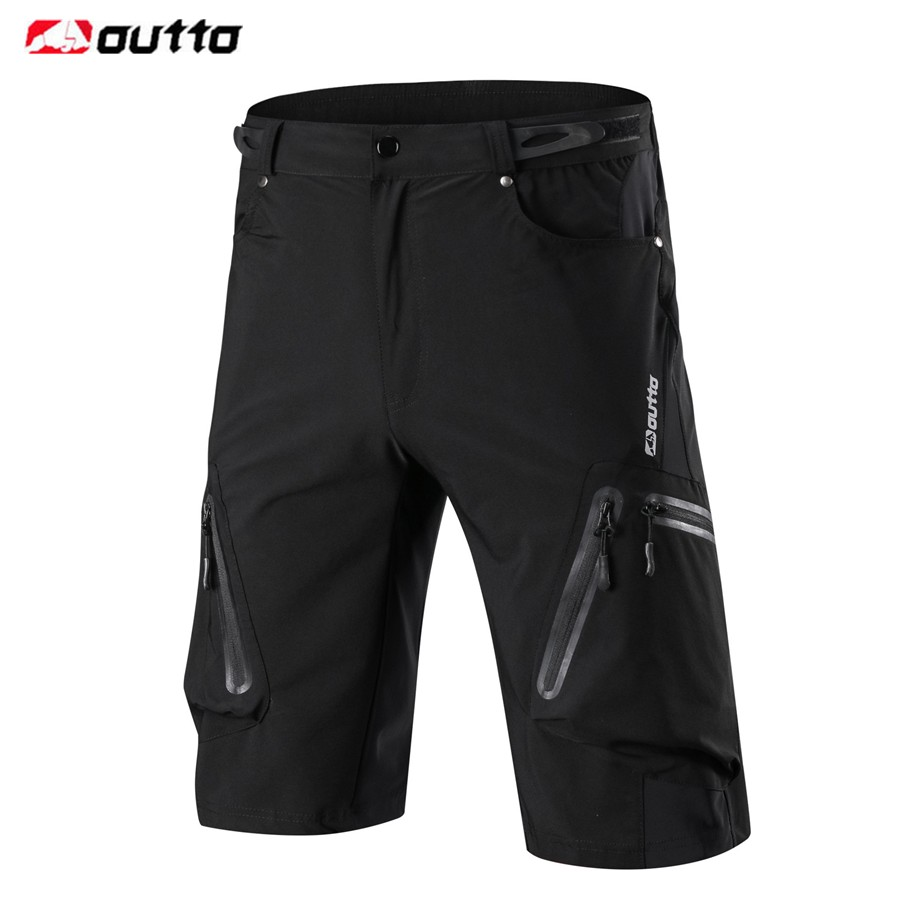 OUTTO Men's Cycling Shorts Downhill MTB Mountain Bike Breathable Shorts Bicycle Running Outdoor Sports Loose Fit Shorts M-4XL цена 2017