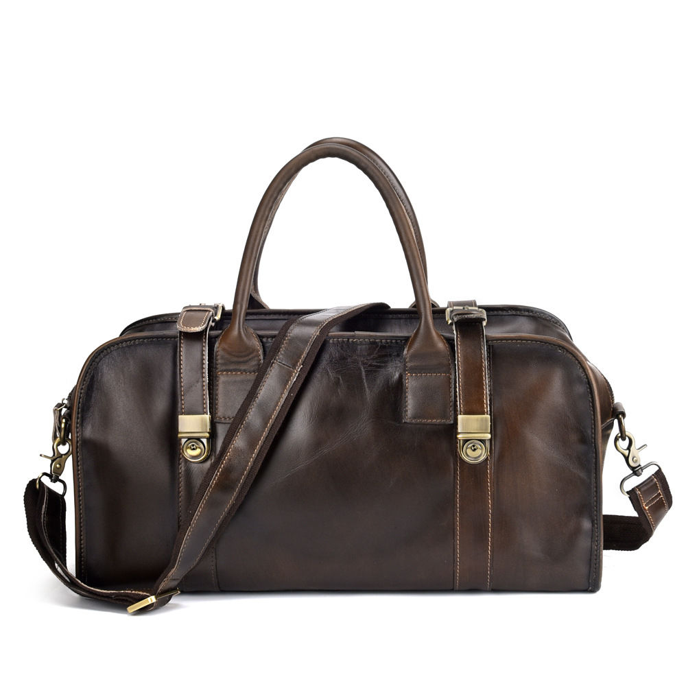 Genuine Leather Travel Bag Men Packing Cubes Travel Luggage Organizer Carry On Duffel Bag Large Capacity Leather Weekend Bag все цены
