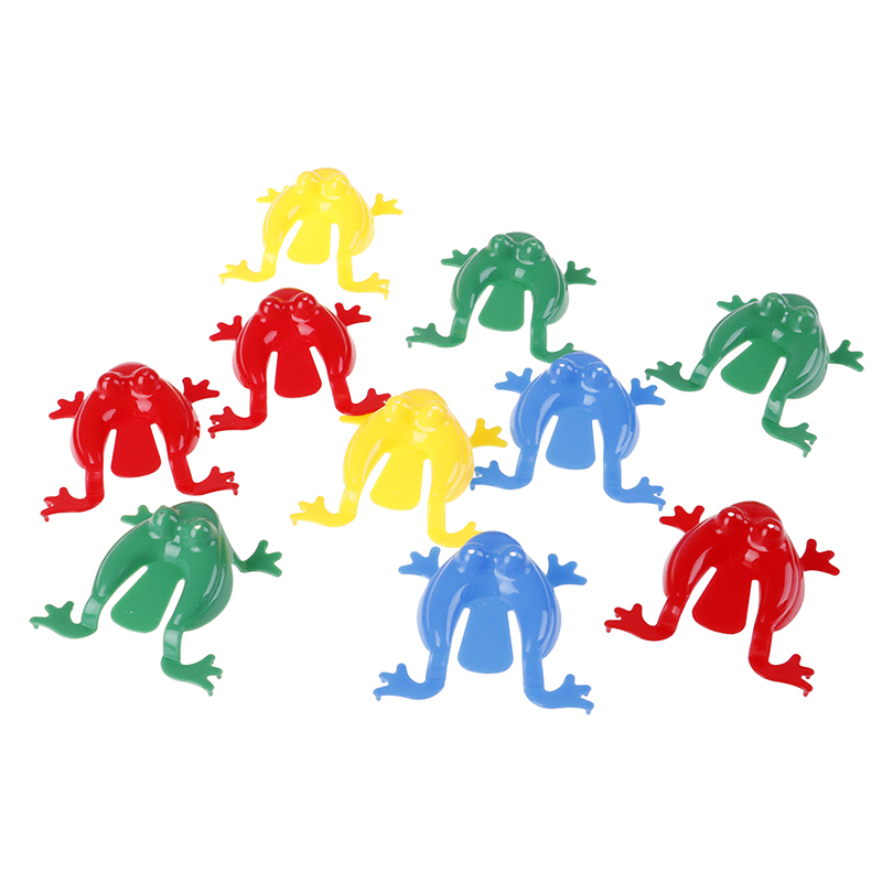 Animal-Toy Action-Figure Frogs Family-Game Plastic Jumping Kids Toys Educational ABS