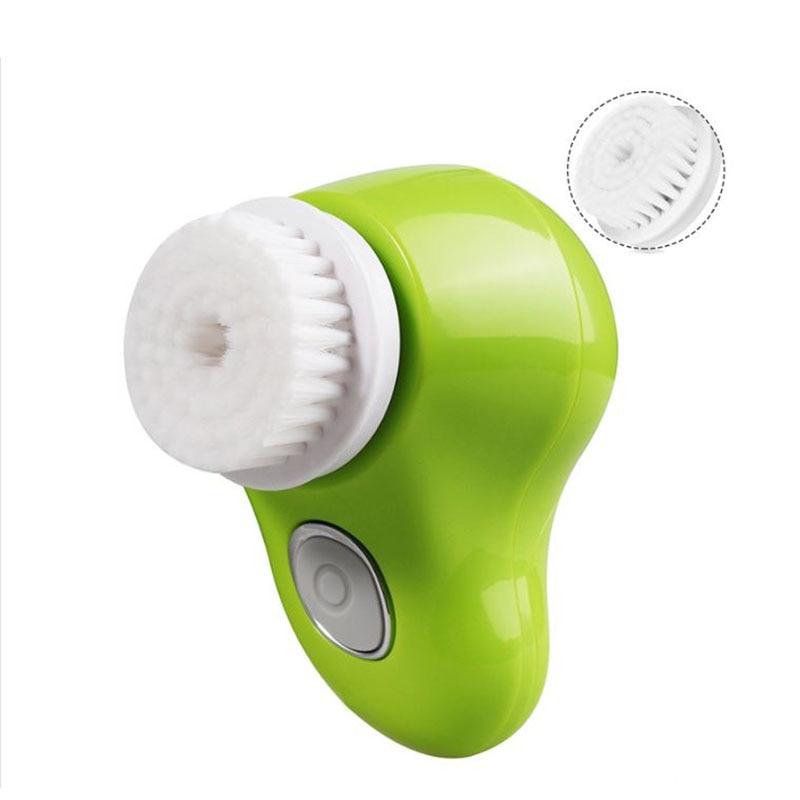 2017 multi-function facial cleaning brush/waterproof electric facial peels/electric washing machine deep face cleansing brush facial cleanser 2 speeds electric face wash machine