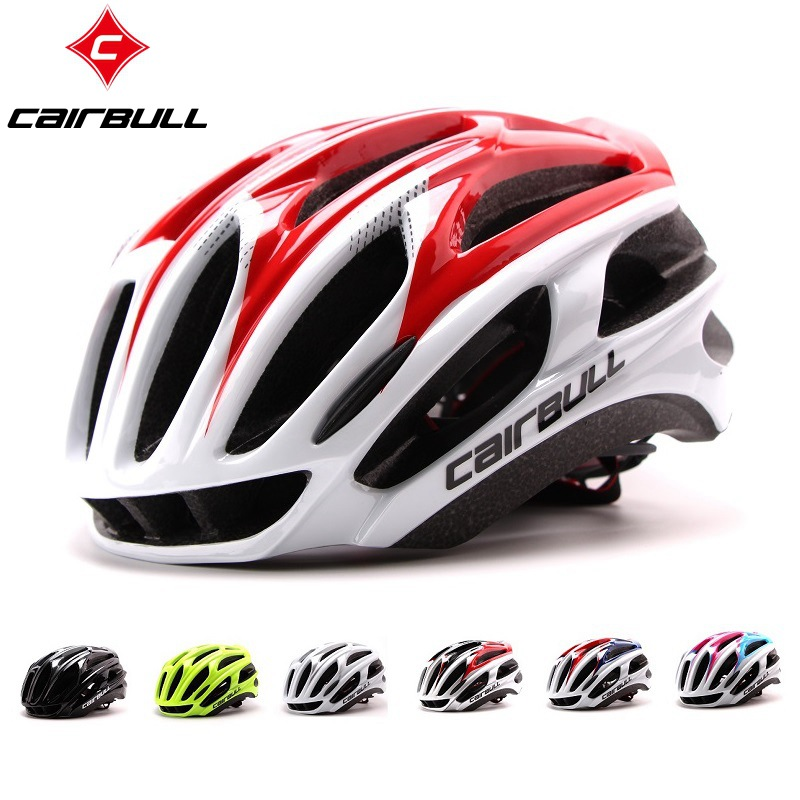 CAIRBULL for Road mountain mtb bike riding helmet super light integration molding bicycle 4D cycling helmet safty cap image