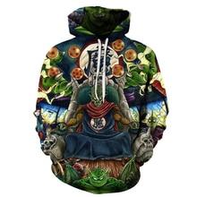 Dragon Ball Super 3D Hoodies Sweaters (2019 Set 3)
