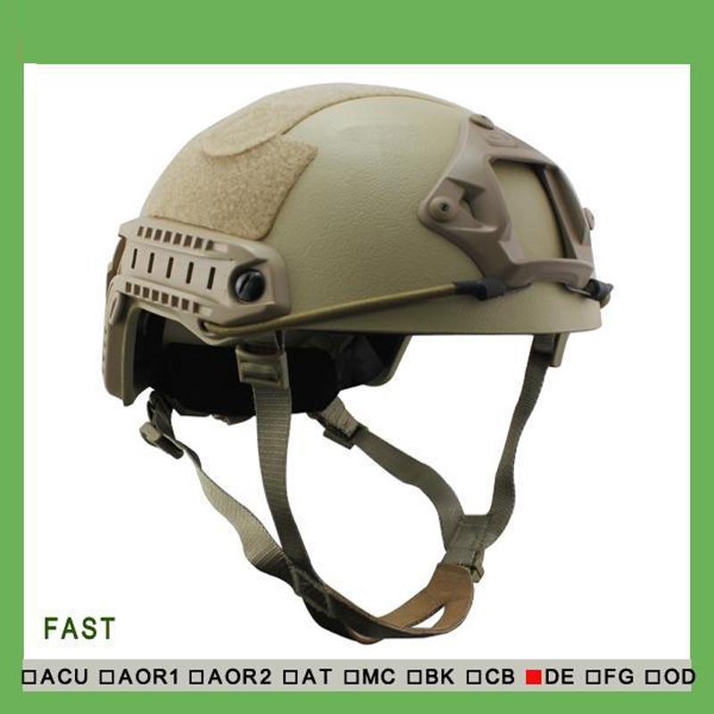 US Army Helmet FAST NIJ Standard Bulletproof Helmet Military Tactical Fast Bulletproof Helmet with test report fast helmet with protective goggle bj type helmet military airsoft helmet tactical army helmet paintball motorcycle ride fast