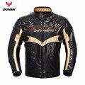 Духан зимняя теплая куртка мотоцикл мотокросс гонки moto куртки PU кожа motobiker езда chaqueta
