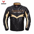 Duhan winter warm motorcycle jacket motocross racing moto jackets PU leather motobiker riding chaqueta