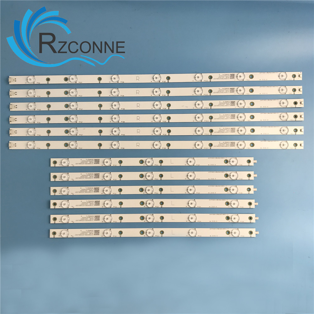 LED Backlight strip 12 lamp For 50PUH6400 50PUF6061 LB PF3030 GJD2P5500612AG82 50AH42R 50AH42L CL 2K15 D2P5