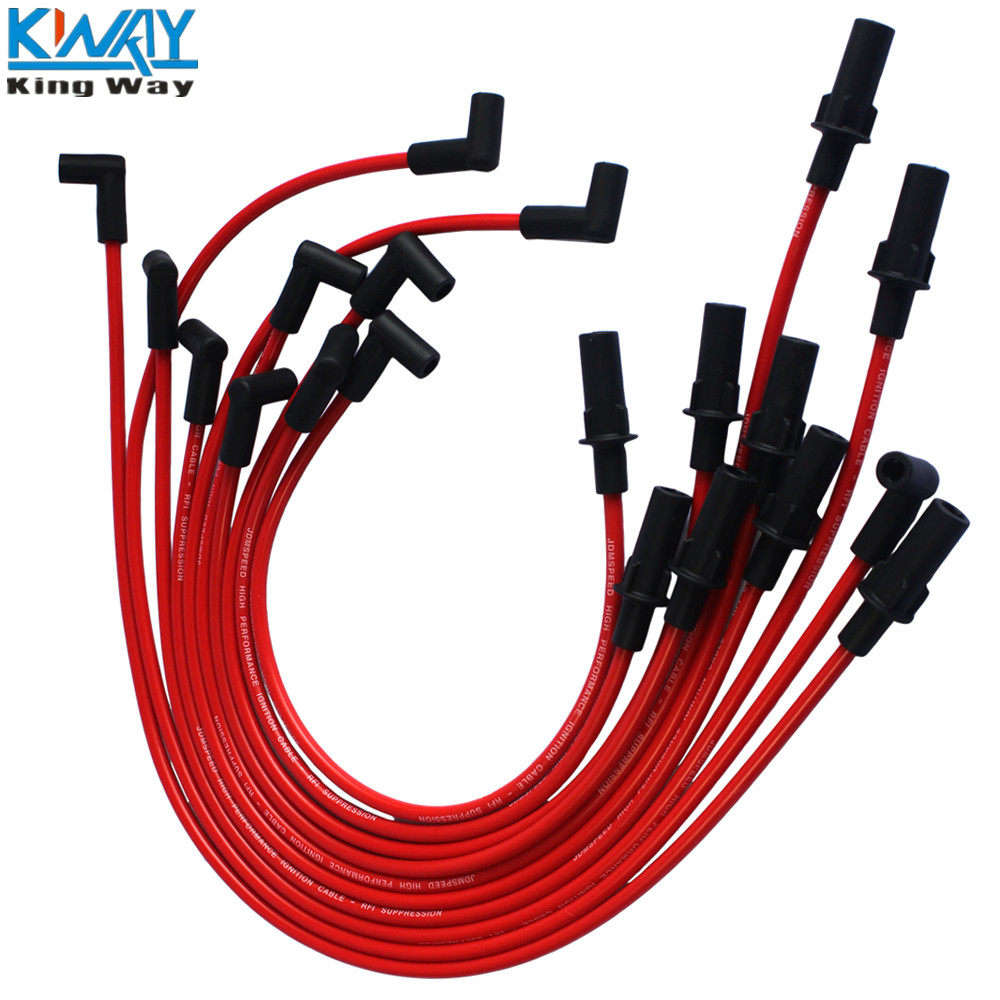 Cute Dodge Spark Plug Wire Steps Of Drinking Water Treatment Diagram 2003 Ram Old Fashioned 283 Motif Electrical System Free Shipping King Way Performance Red Set For 1990 1500 2500